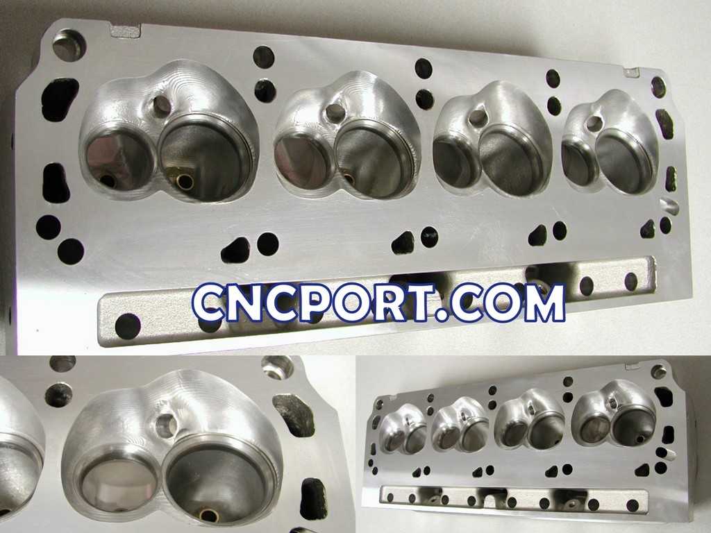 PERFORMANCE CNC - 5-Axis CNC Ported Racing Cylinder Heads & Private